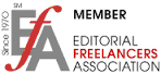 editorial freelancers assoc badge